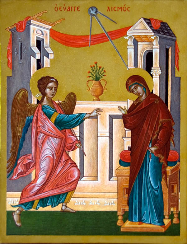 Icon of The Annunciation