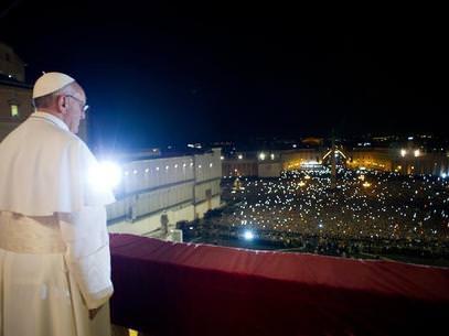 Pope Francis SJ on the balcony