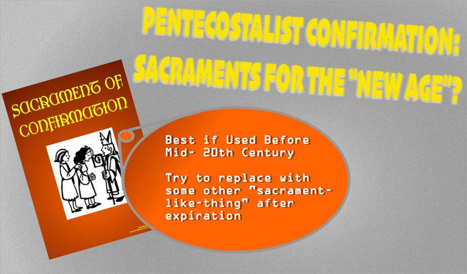 expired sacraments
