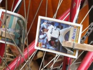 spokes and card