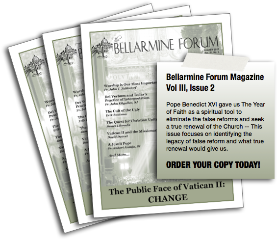 Bellarmine Forum Magazine: Public Face of Vat II Change