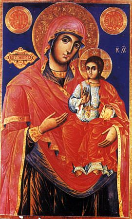 """Icon, """"The Merciful"""""""