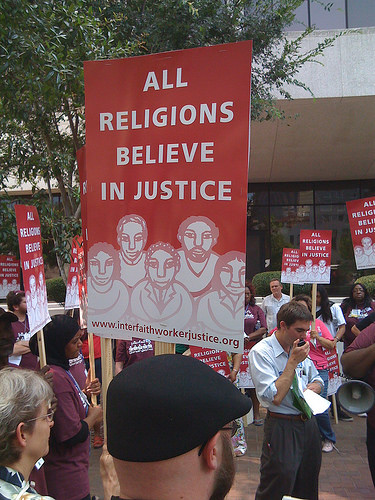 interfaith worker justice photo