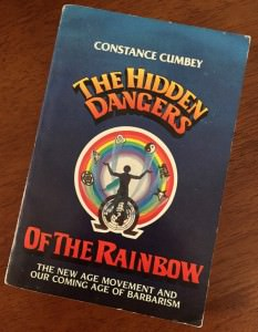constance cumbey, hidden dangers of the rainbow cover, pic by manos