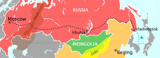 Vladivostok is far East. Close to the United States, China, North Korea, and Japan.