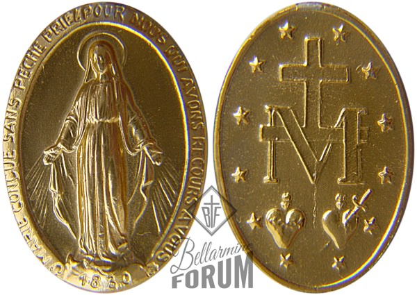 The Miraculous medal contains all the revelation of Mary as the Queen of Heaven, Invincible Champion.